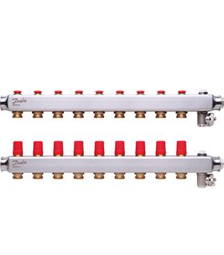 Danfoss - SSM Manifold Çelik Kollektör Seti 9 Ağızlı