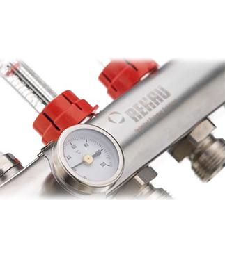 Rehau Termometre Dağıtıcı Borularda Sıcaklık Ölçümü İçin